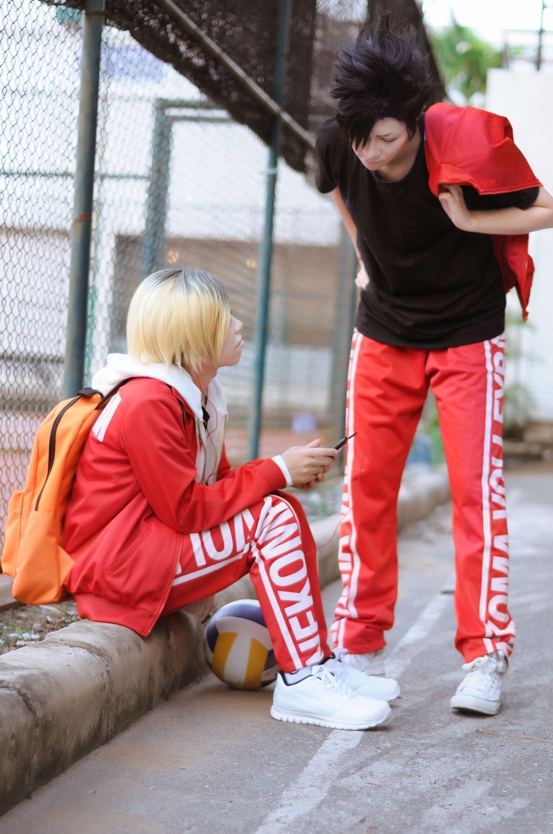 Photo of Los cosplay más realistas de Haikyuu!!! – Kuuro y Kenma