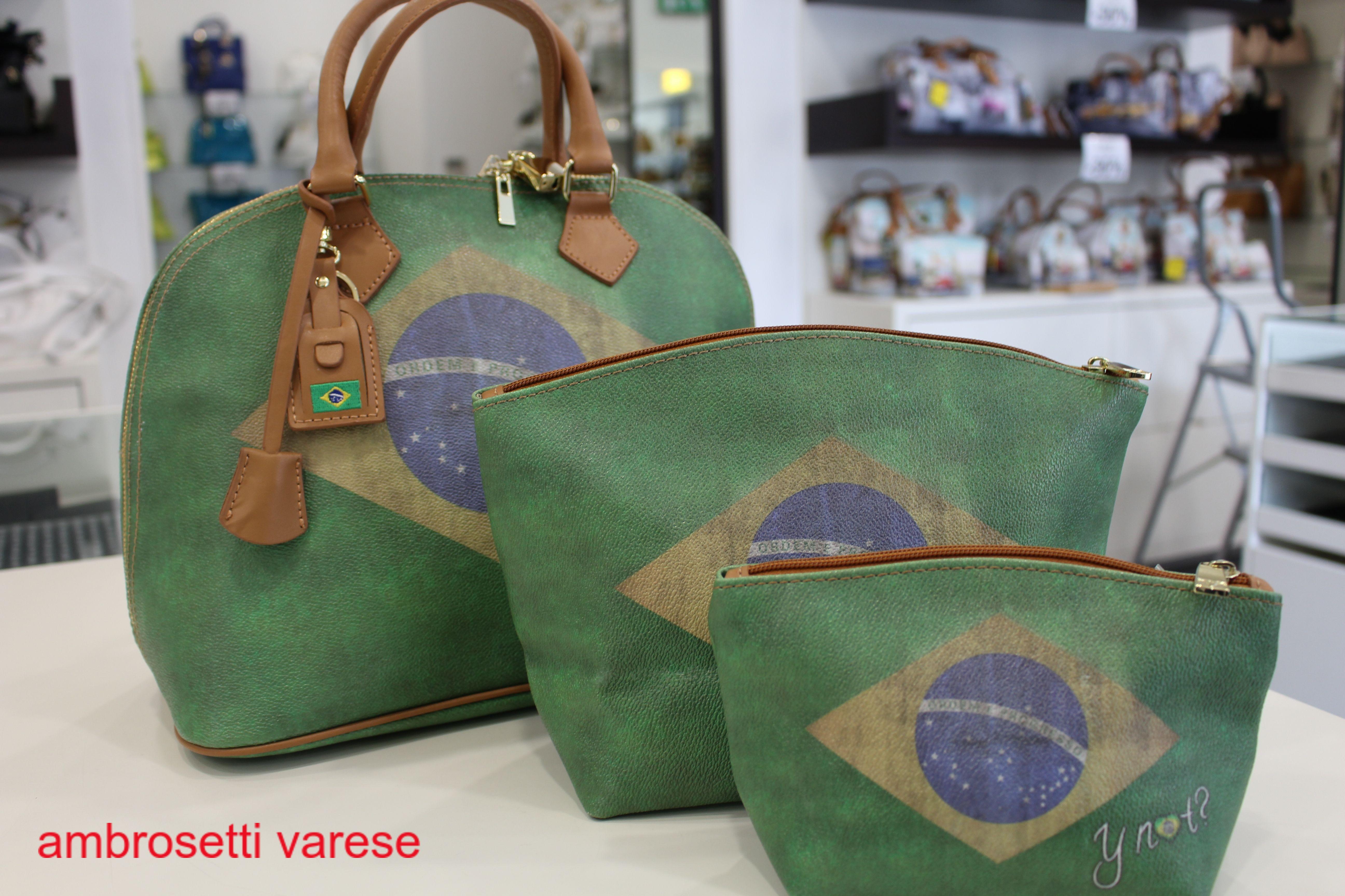 Mondiali in Brasile terminati  Ricordali con una borsa by Ynot ... 5f0f4491e74