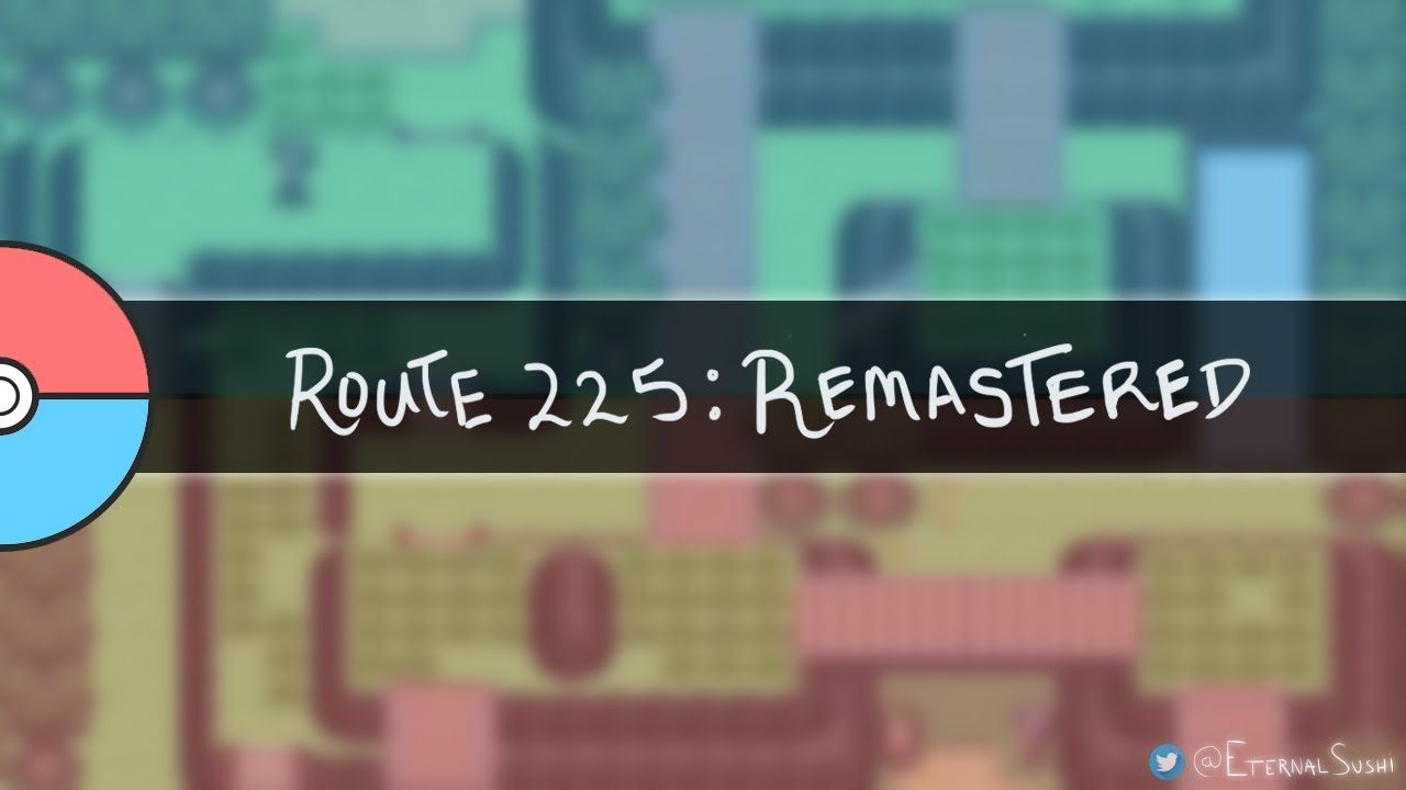pokémon diamond & pearl: route 225 - remastered in hq! https