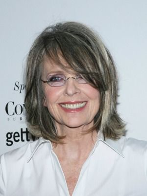 Diane Keaton Grey Hair Done Right