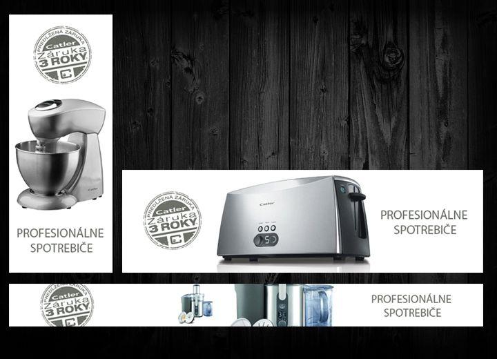 Banner Set - Household Appliances