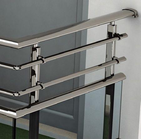 RS45 Elliptic Railing System, Eksen Metal Design!     #Aluminium_railing_system #Railing_system #aluminium_balustrades  #balustrades #anodized #oval_u2026