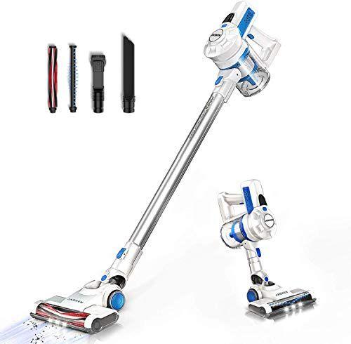 Cordless Vacuum Cleaner JASHEN Stick Cleaner Wireless Lightweight Handheld