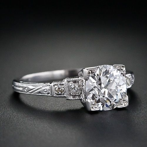 trendy diamond rings vintage wedding ring circa 1920s rings https - 1920s Wedding Rings