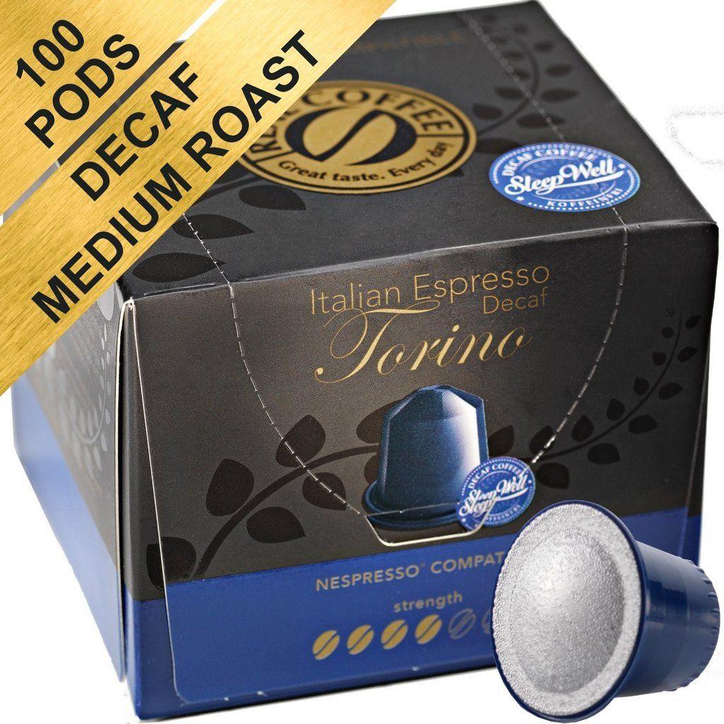 100 Decaf Nespresso Compatible Pods Decaffeinated