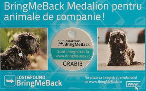 Bringmeback animale de companie