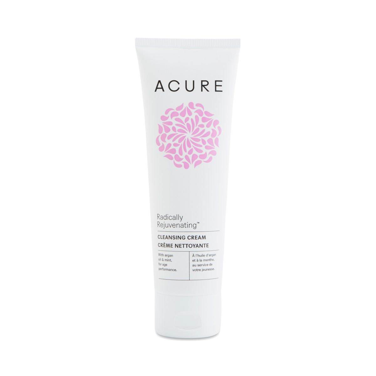 Acure Radically Rejuvenating Cleansing Cream 4 Oz Tube