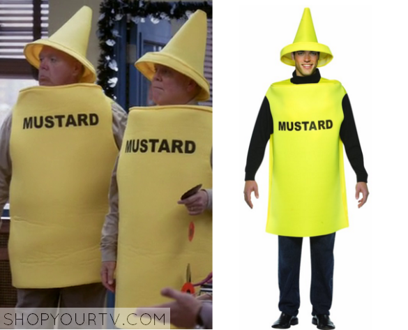 Brooklyn Nine Nine: Season 3 Episode 5 Hitchcock & Scully's Mustard Costume