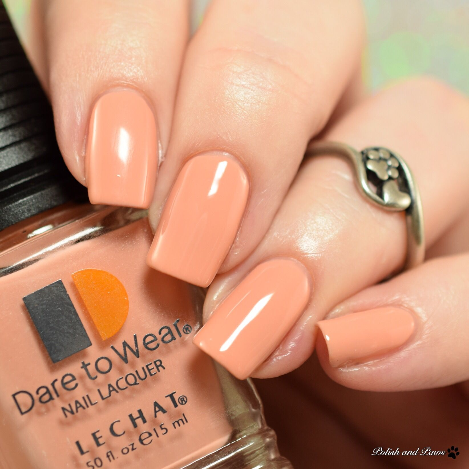 Le Chat Dare to Wear Honey Buns | Nail polish bloggers | Pinterest ...