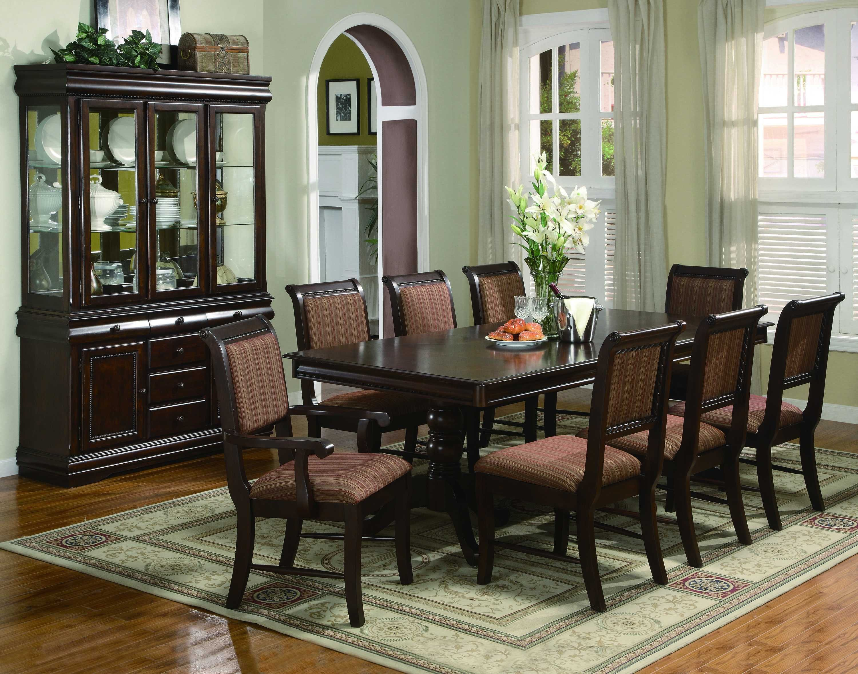 The living room is one of the most important areas in your house for a great hosting experience. Traditional Formal Dining Room Sets - 2019   Formal dining ...