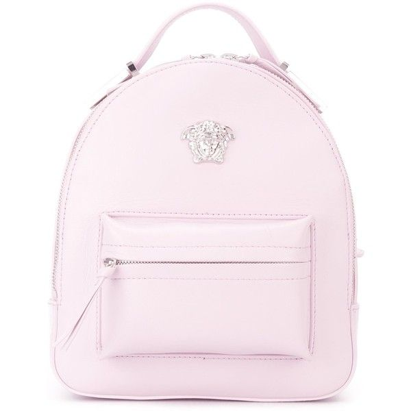 a36552aa Versace mini Medusa backpack ($1,539) ❤ liked on Polyvore featuring ...