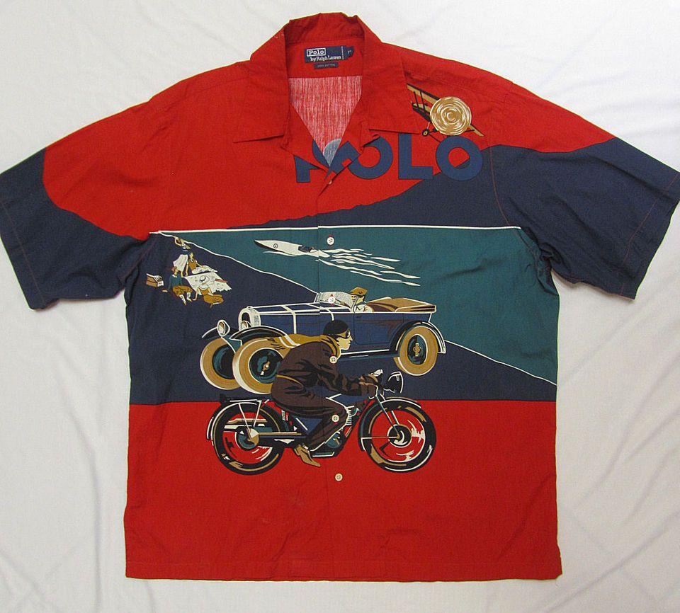 c8a12215 POLO RALPH LAUREN ~ Vintage Polo Racing Shirt | Lo-Life$ and Lo ...
