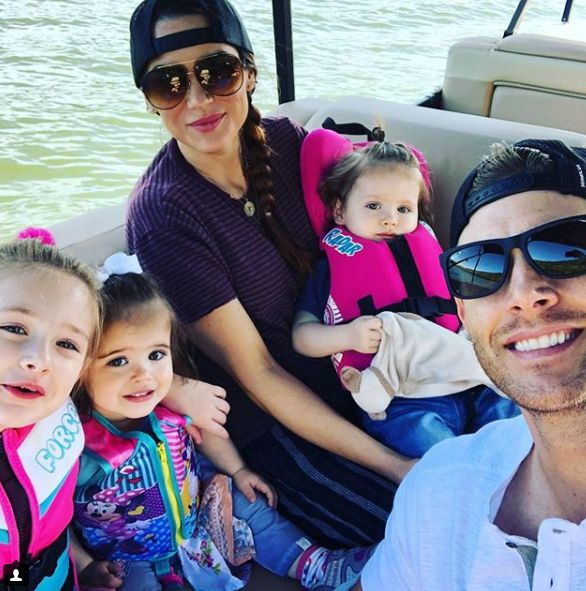 Image result for jensen ackles with his family 2018