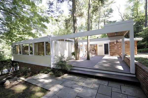 Außen Haus, Moderne Inneneinrichtung, Moderne Häuser, Modernes Design, Mitte  Des Jahrhunderts, Gehäuse, Gärten, Architektur, Midcentury Modern