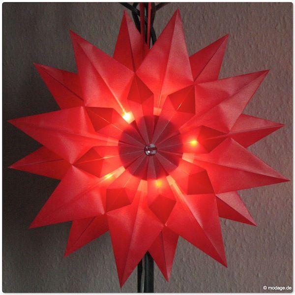 Diy Weihnachtsstern Basteln: Strahlend Leuchtende Faltsterne – DIY