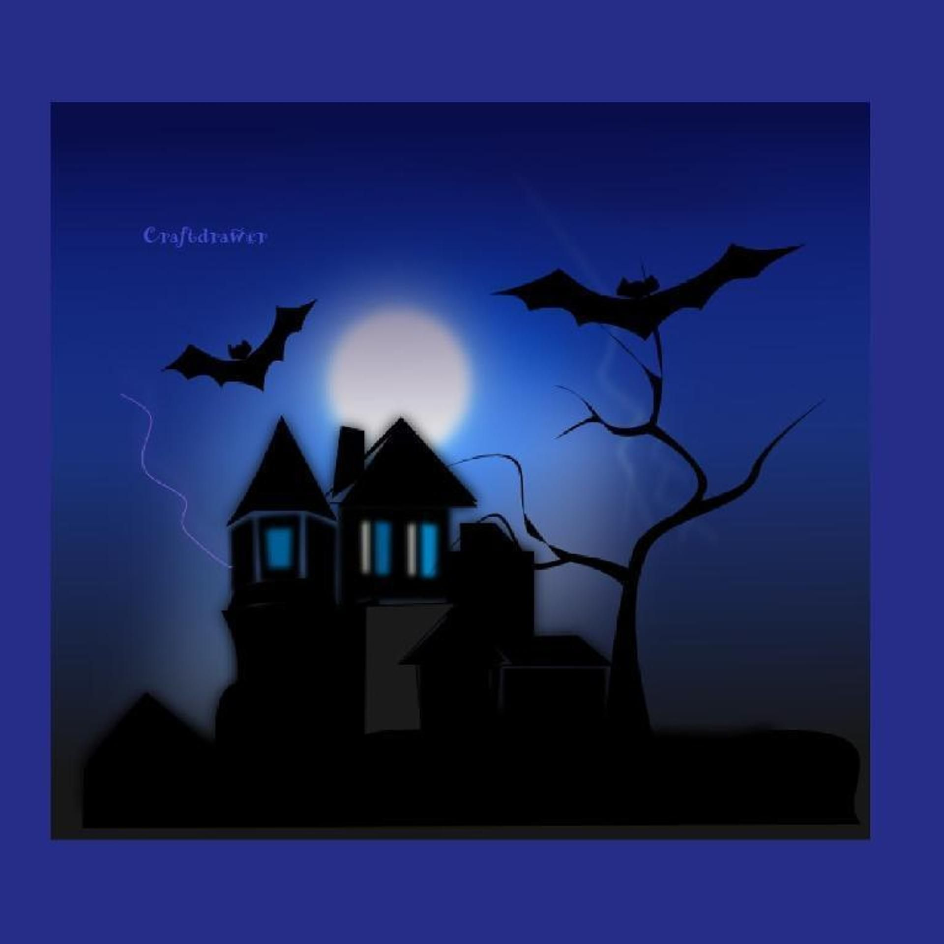 Halloween Scenes Scrapbook Printables | affiliate link | Fall and ...