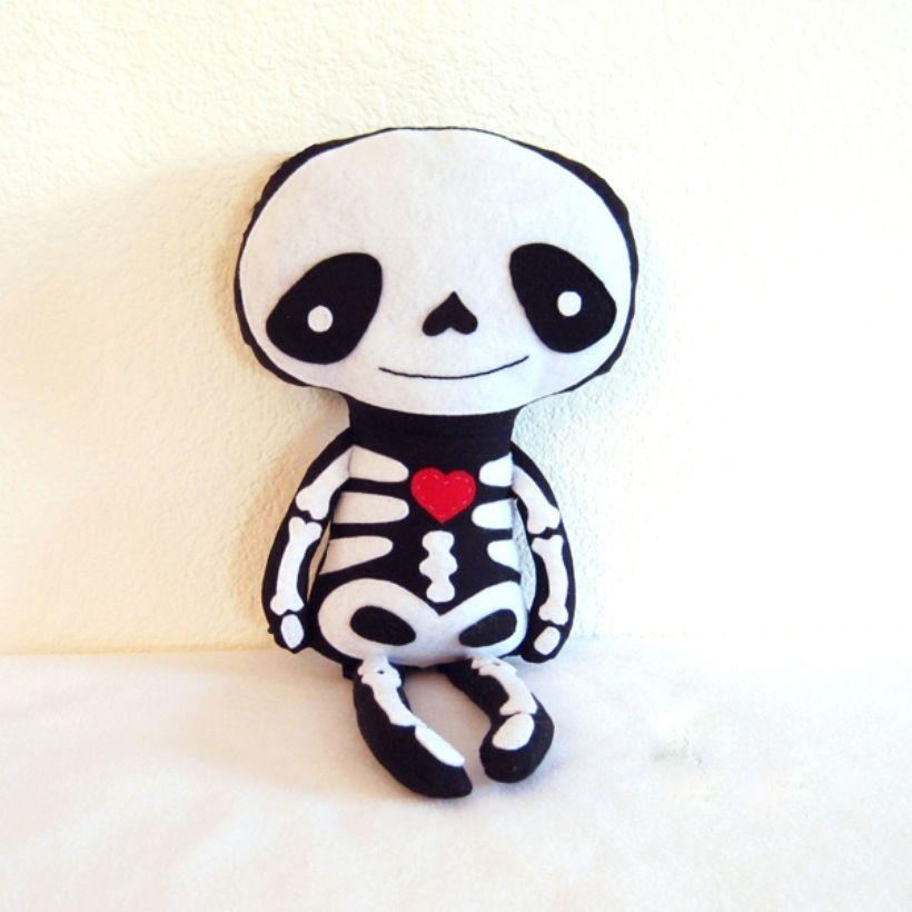 Skeleton doll - The Supermums Craft Fair | Cute and Creepy Dolls ...