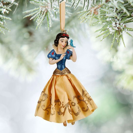 disney store 2015 snow white bluebird sketchbook christmas ornament new w tag - Decoration Noel Disney