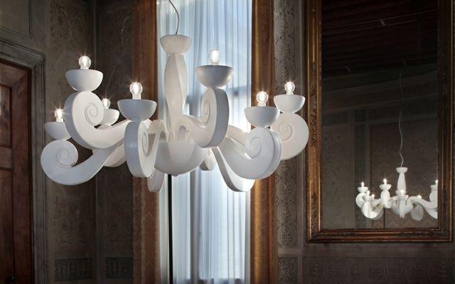 Moderne Design Lampen : Moderne designer lampen italien weiße farbe kronleuchter led