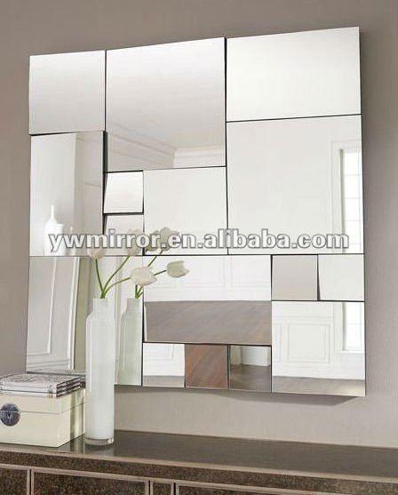 Hwm10213 decorativos para el hogar moderno pared espejo for Espejos decorativos con formas