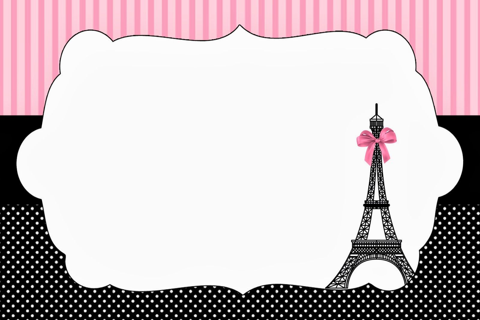 Paris invitations and free party printables 8th birthday paris invitations and free party printables stopboris Image collections