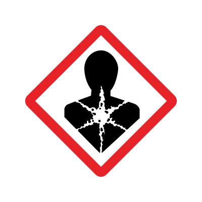 Kronisk helsefare - GHS08 Faresymbol