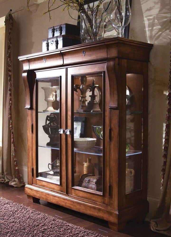Kincaid Tuscano Solid Wood Display Cabinet 96-070 CODE
