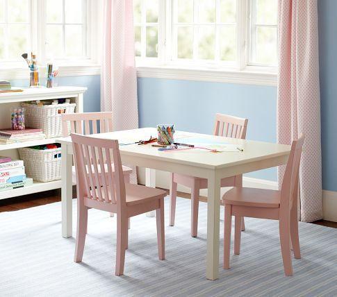 Carolina Large Table 4 Chairs Set Pottery Barn Kids On Wanelo