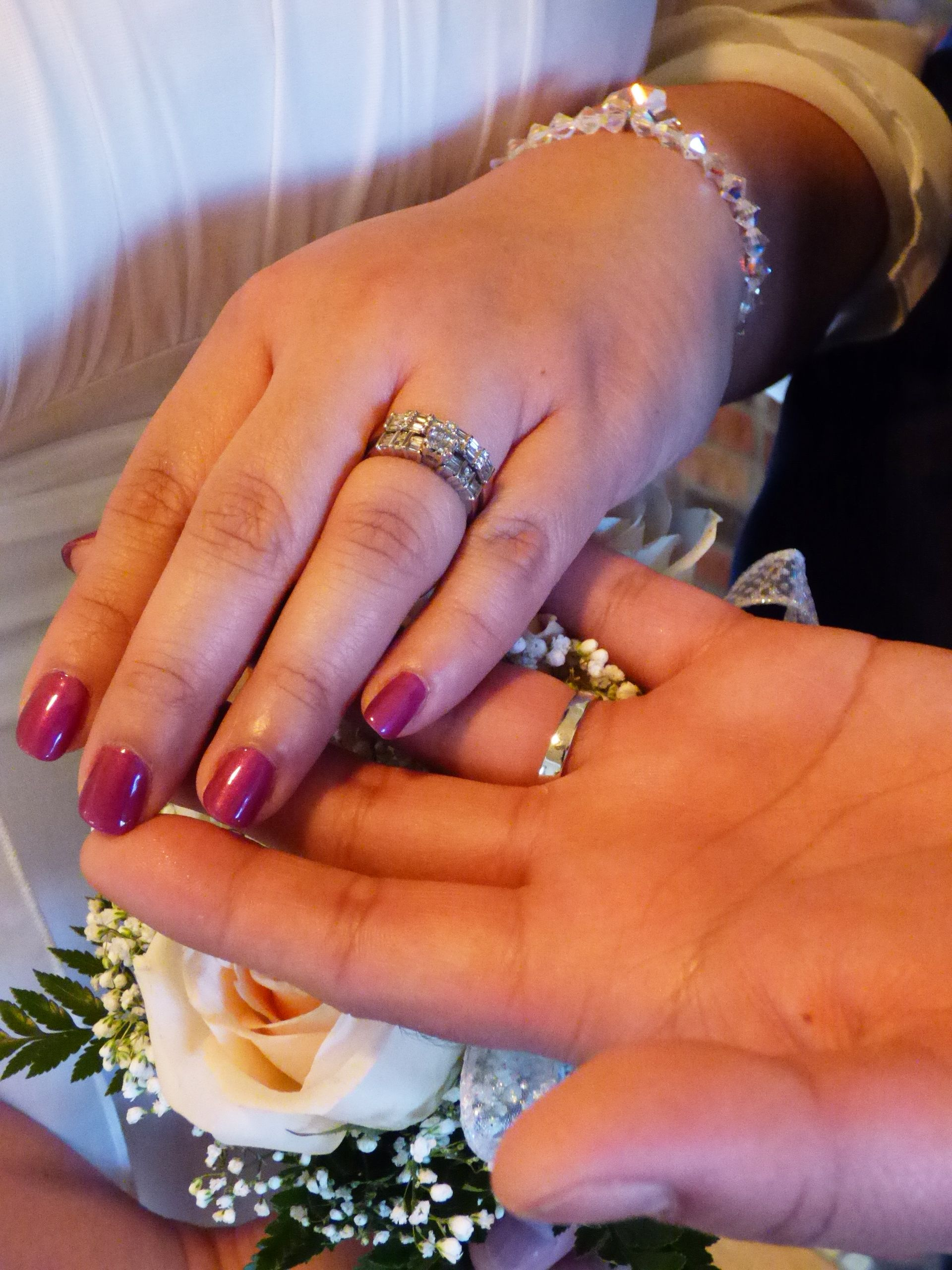 The ring exchange. Wedding officiant, Traditional