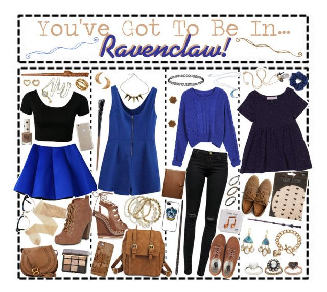 You've Got To Be In…Ravenclaw! by i-get-a-little-bit-breathless on Polyvore featuring polyvore fashion style Topshop J Brand Nude Fogal Christian Louboutin Dorothy Perkins Ollio Vans Merona Chloé Judy Geib CO ASOS Juicy Couture Disturbia London Road Robert Lee Morris Kendra Scott Case-Mate Natasha Couture Bobbi Brown Cosmetics Coach SO Happy Plugs clothing