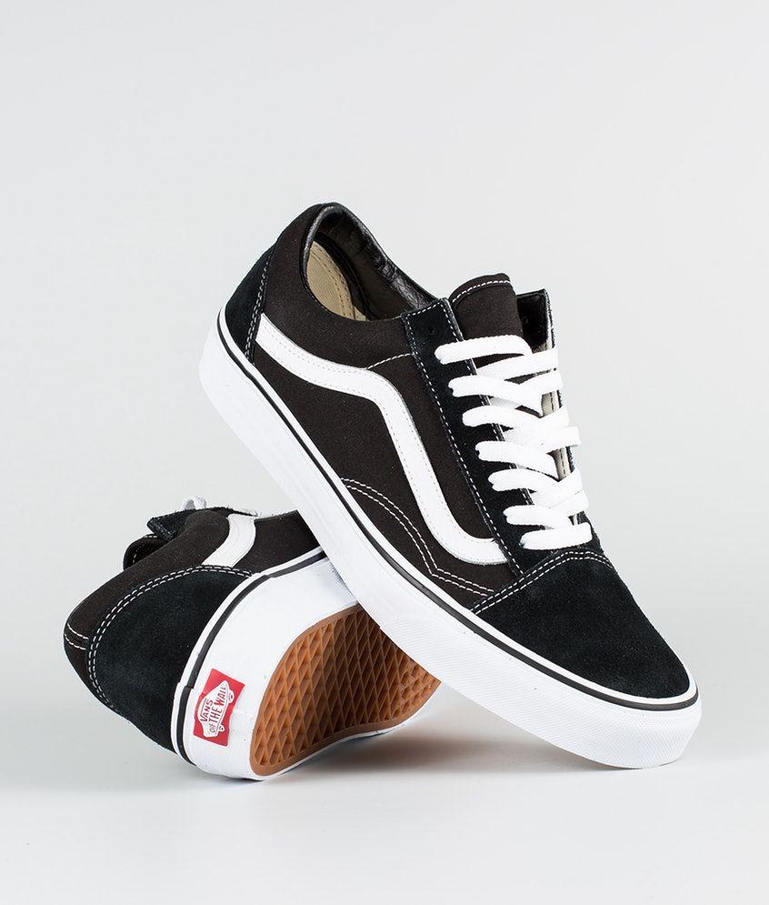 Vans Old Skool Chaussures BlackWhite | Chaussure