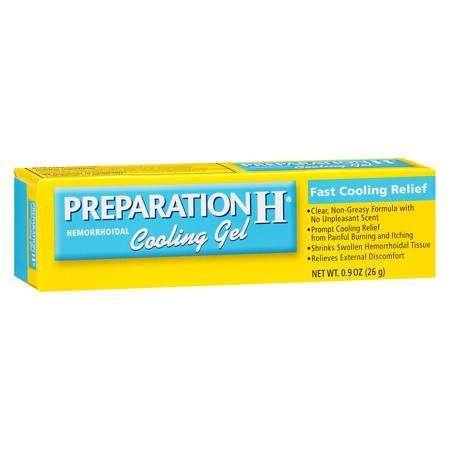 preparation h shrink penis