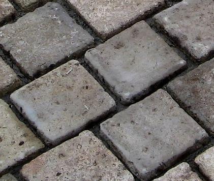 Pavé de béton imitation pierre ancienne Extérieur  déco et