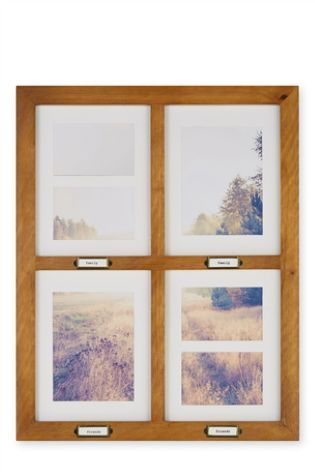 buy 6 aperture wooden window collage frame from the next uk online shop - Window Collage Frame