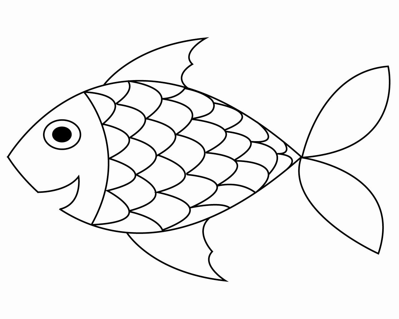 Printable Fish Coloring Pages Fresh Free Printable Fish Coloring Pages For Your Lovely Toddlers Fish Coloring Page Fish Printables Rainbow Fish Coloring Page