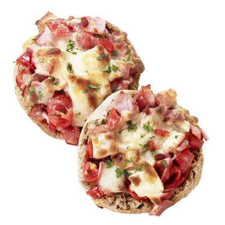 Englishmuffin breakfast pizza english muffin breakfast