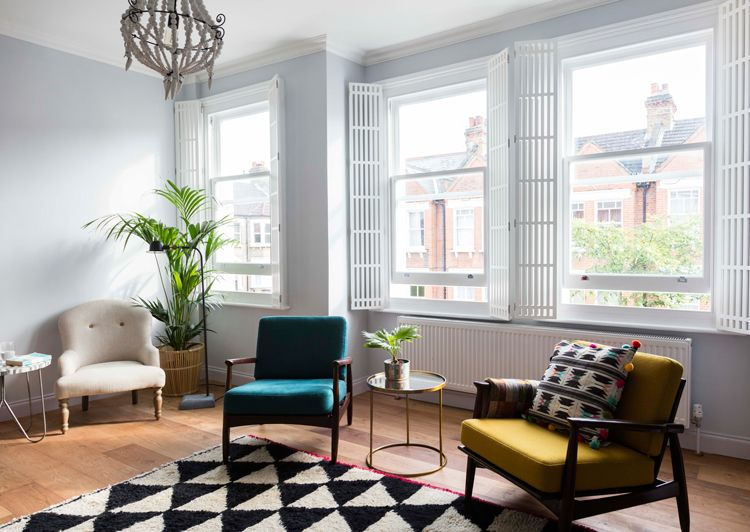 Modern Furniture In Old House jali bespoke shutters in george clarke's old house, new home