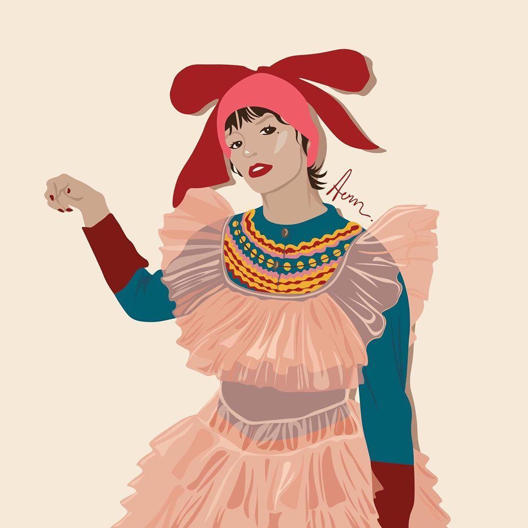Knock knock @MollyGoddard - AW2020...Knock knock @MollyGoddard - AW2020  •  #illustration #illustrator #fashionillustration #fashionillustrator #fashiondrawing #illustrationartists #illustrationart #fashiondesign #graphicdesign #fashiongraphic #graphicart #fashionart #fashionweek #fashionweek2020 #fall2020 #fallwinter2020 #aw20 #aw2020 #mollygoddard
