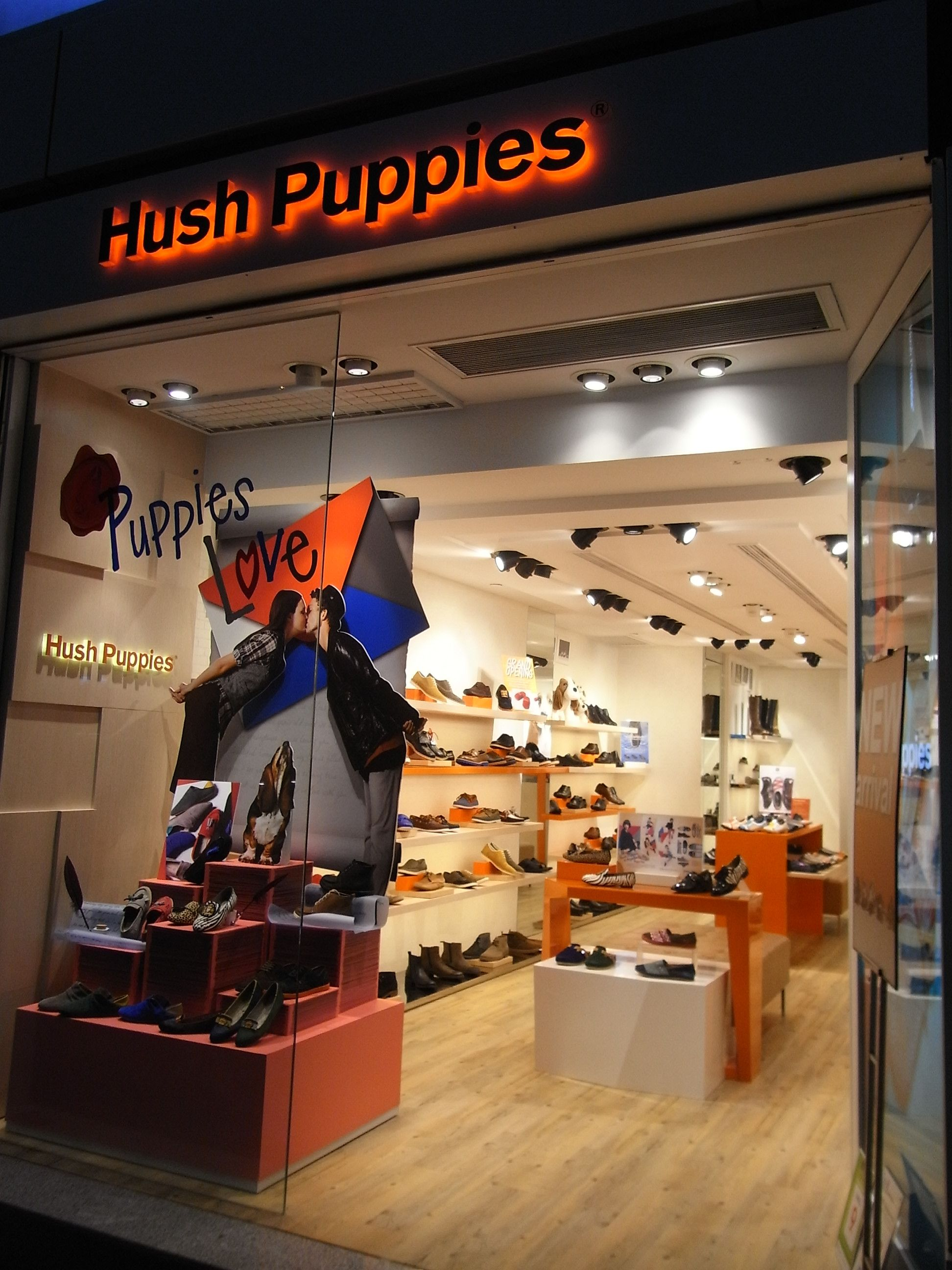 stores that sell hush puppies