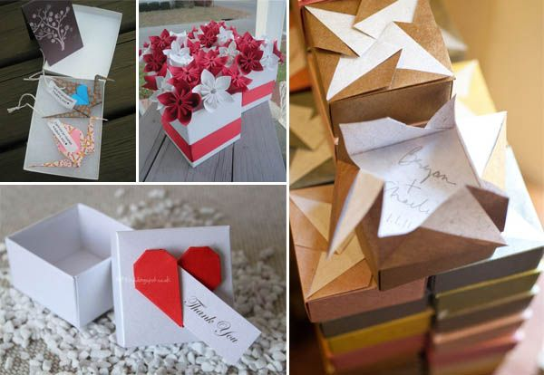 Bomboniere Matrimonio Origami.Matrimonio A Tema Origami Matrimoni A Tema Origami Bomboniere E
