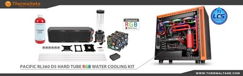 Thermaltake Pacific Rl360 Rl240 D5 Hard Tube Rgb Water Cooling