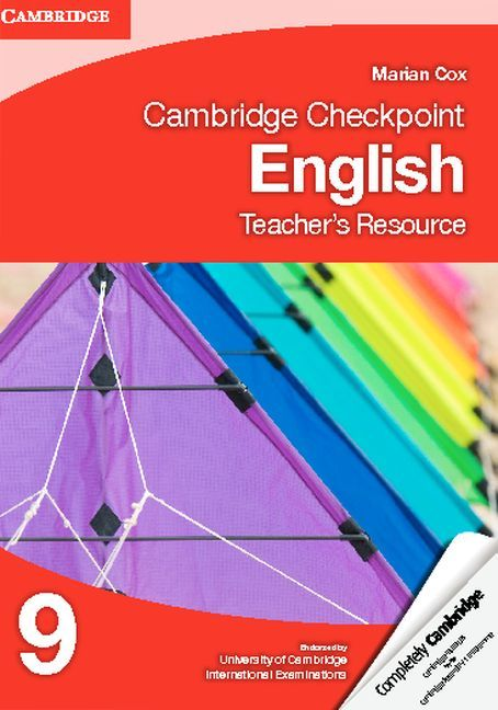 Cambridge Checkpoint English 9 matches the requirements of the Stage