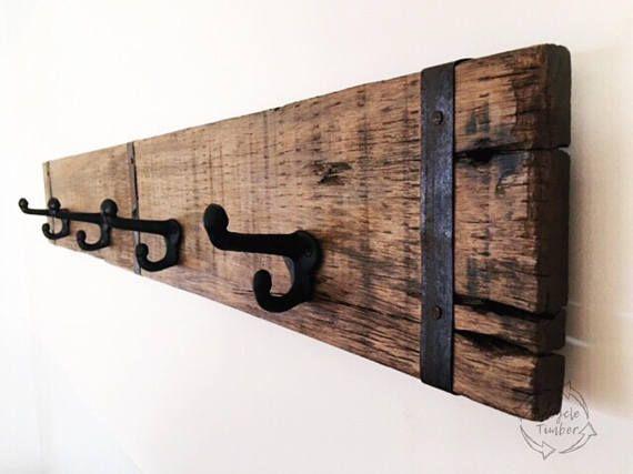 Buy Australian Unique Industrial Wooden Wall Coat Rack Handmade Amazing Wooden Wall Coat Rack