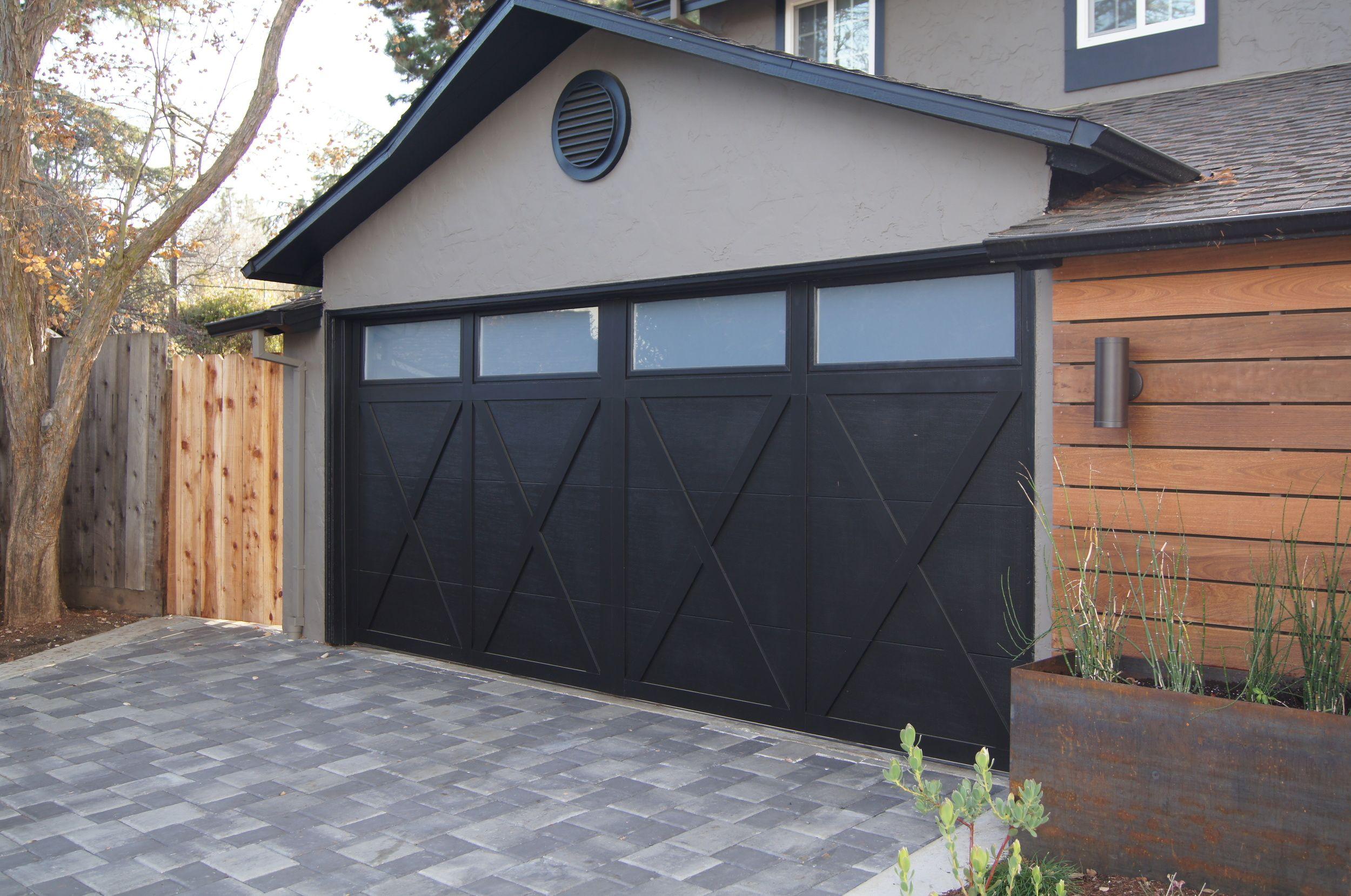 Curb Appeal Project Heather Green Garage Door Styles Garage Door Design Modern Garage Doors
