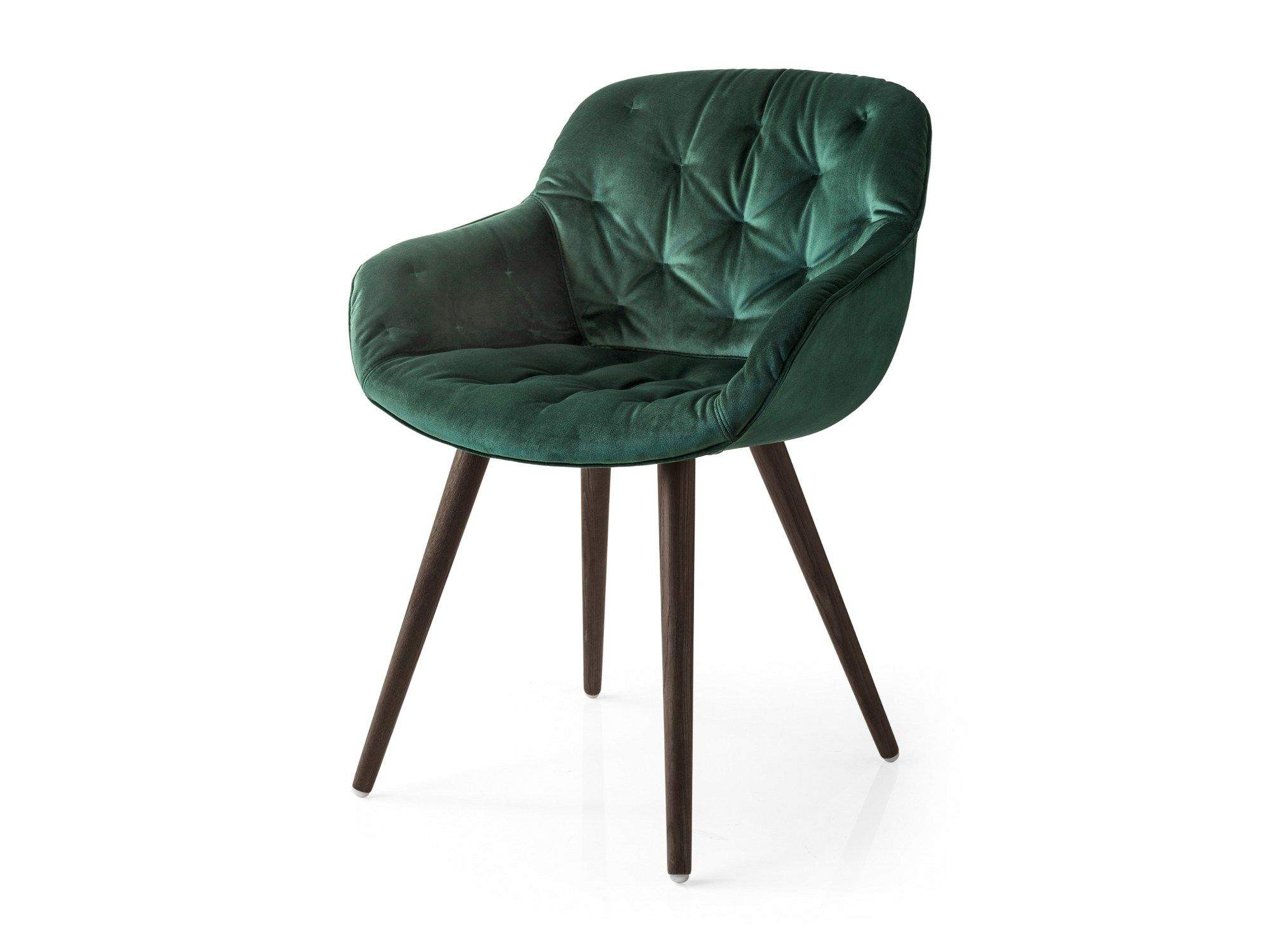 poltroncina capitonné in velluto per contract igloo soft by ... - Poltroncina Calligaris