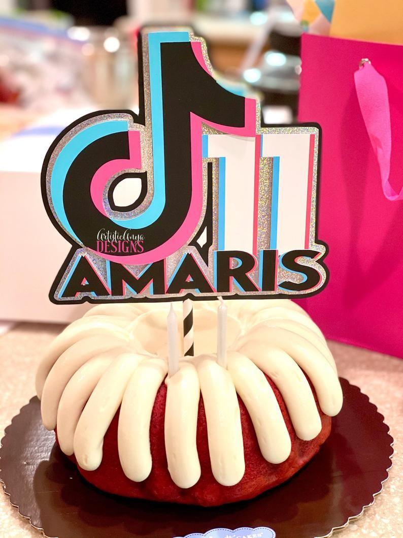 Tiktok Inspired Theme Birthday Party Ideas Photo 14 Of 27 Birthday Surprise Party Birthday Party For Teens Cool Birthday Cakes