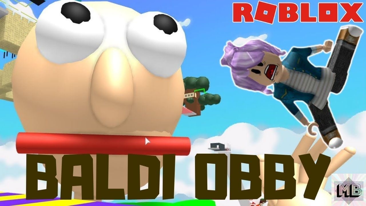 Roblox Game Easy Fun Escape Baldi Obby Roblox Online Roblox