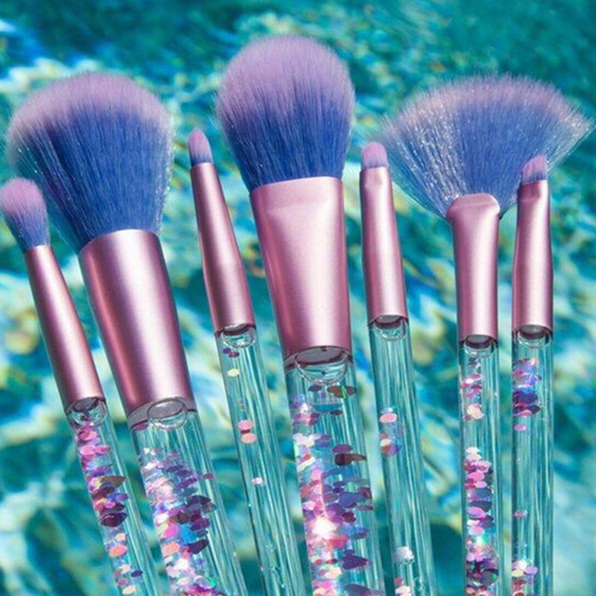 I like this! makeuptoolproducts Makeup brush set, Pink