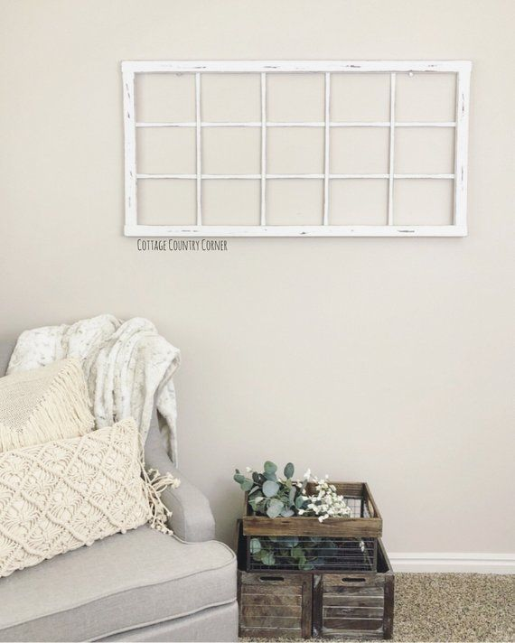 Thick window frame for pictures wall decor farmhouse pinterest frames antique and windows also rh
