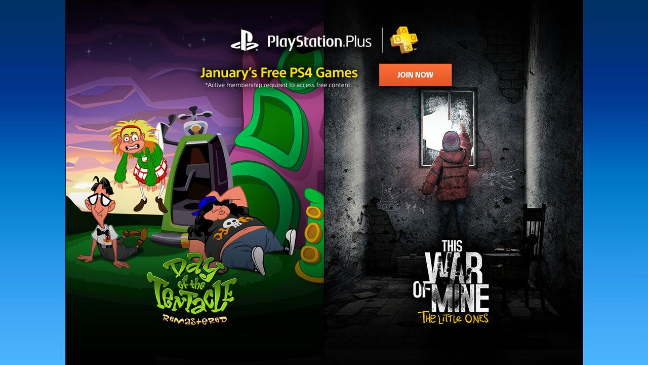 PlayStation Plus members excited to hear the announcement of the up ing free games every month With a new year ing many members